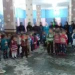 Eröffung des Kindergartens für Kriegswaise in Erbin am 9.4.2016