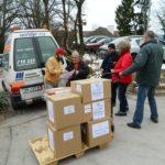En février 2013, notre association a envoyé une ambulance chargée de médicaments en Syrie